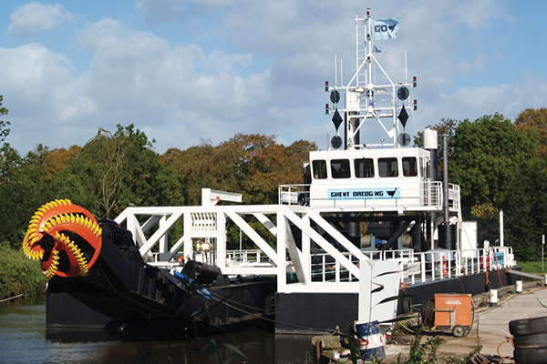 Modular Cutter Suction Dredger, Yardno. 166