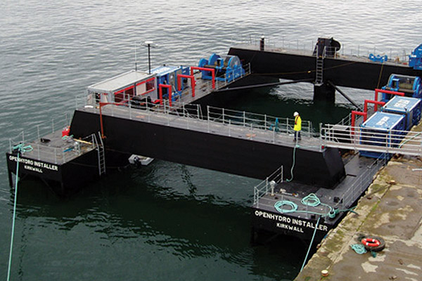 Openhydro Gravity Barge, Yardno. 158